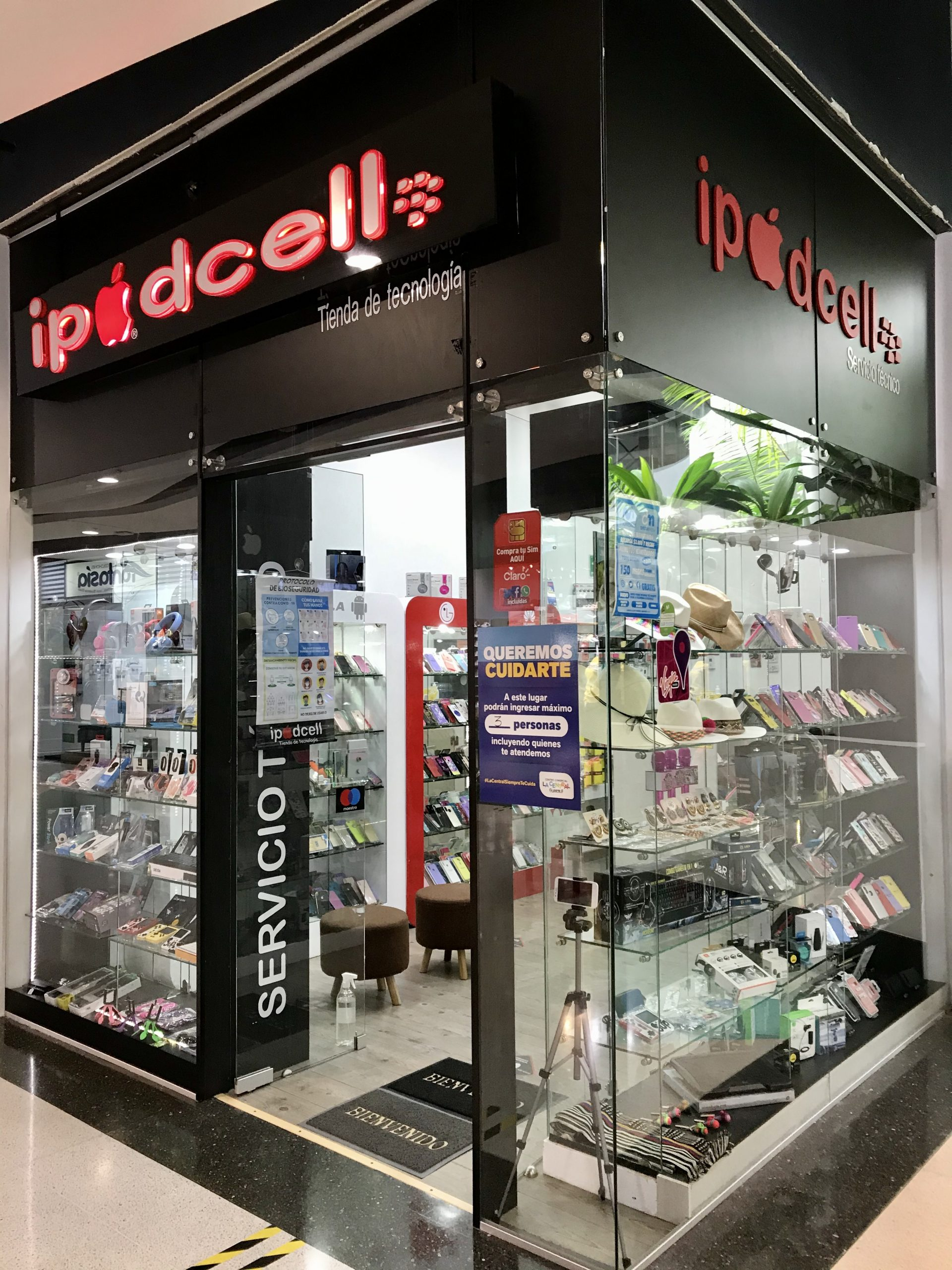 Ipodcell- Centro-Comercial-La-Central